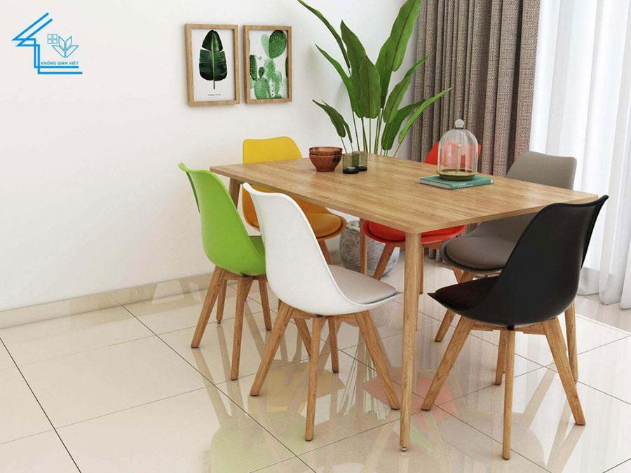 bàn ăn chung cư đẹp