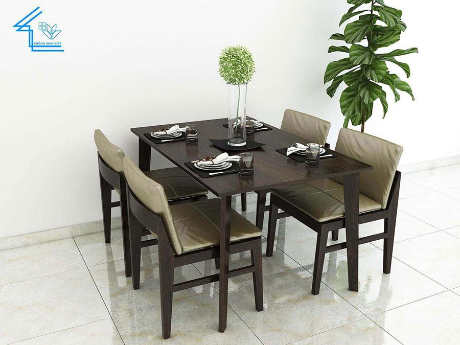 mầu bàn ăn tuyệt đẹp cho chung cư