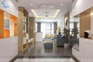 nội thất căn hộ chung cư FLC 4003 - 2