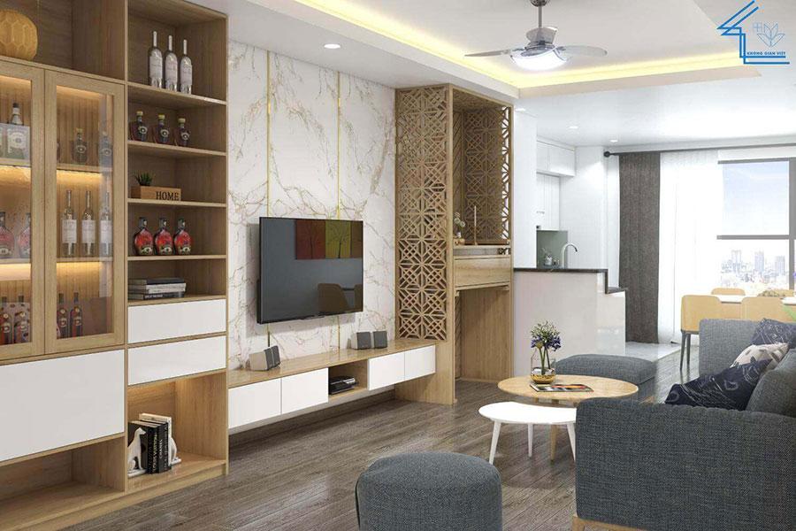nội thất căn hộ chung cư FLC 4003 - 4