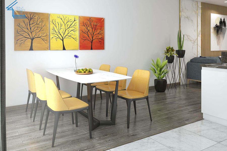 nội thất căn hộ chung cư FLC 4003 - 5