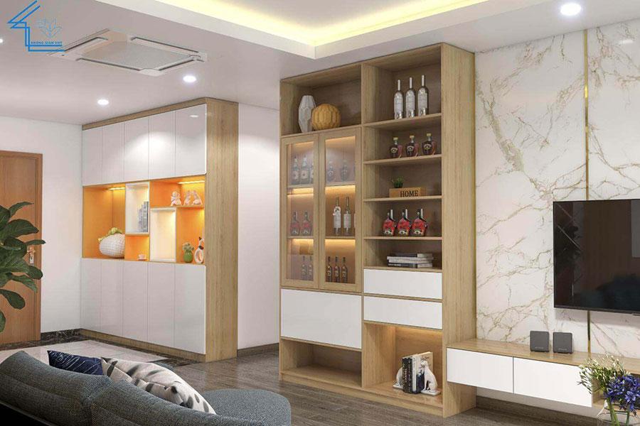 nội thất căn hộ chung cư FLC 4003 - 6