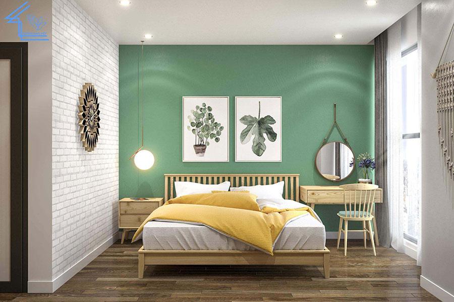 phòng ngủ chung cư 70m2 2