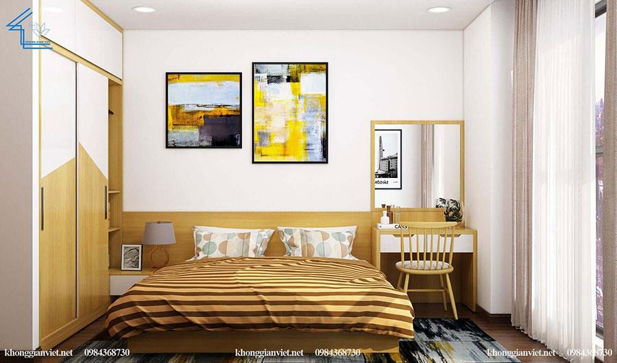 thiết kế nội thất căn hộ chung cư flc 4010-13