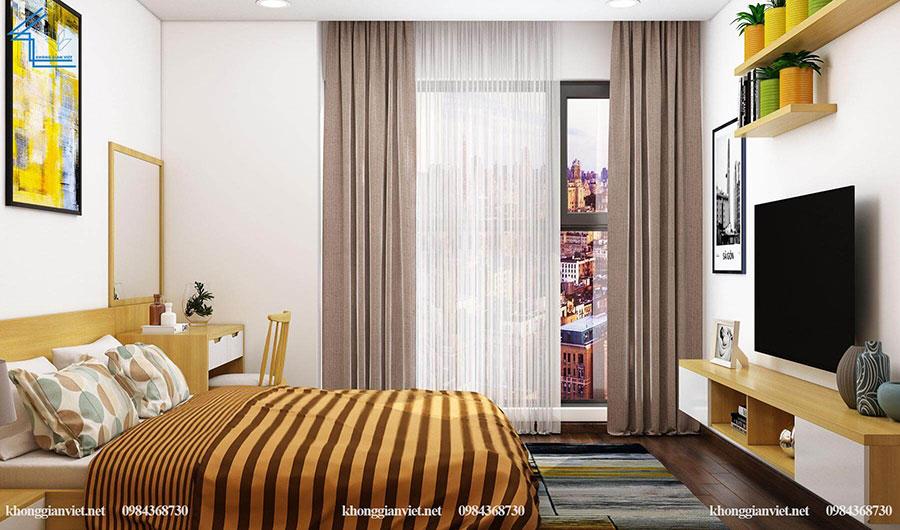 thiết kế nội thất căn hộ chung cư flc 4010-14