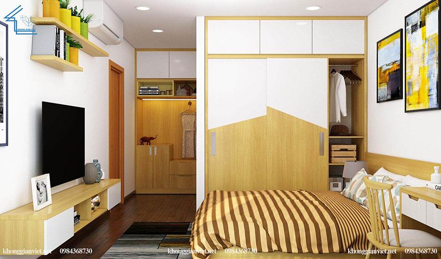 thiết kế nội thất căn hộ chung cư flc 4010-15