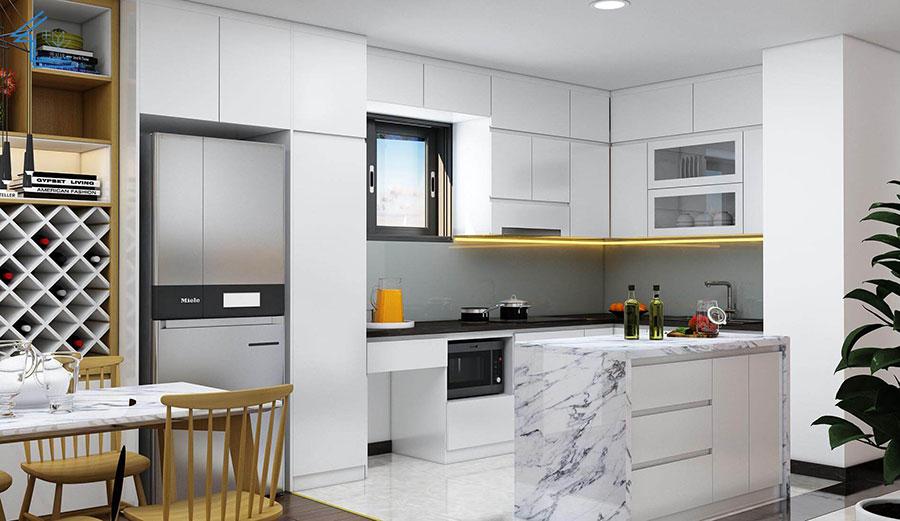 thiết kế nội thất căn hộ chung cư flc 4010-6