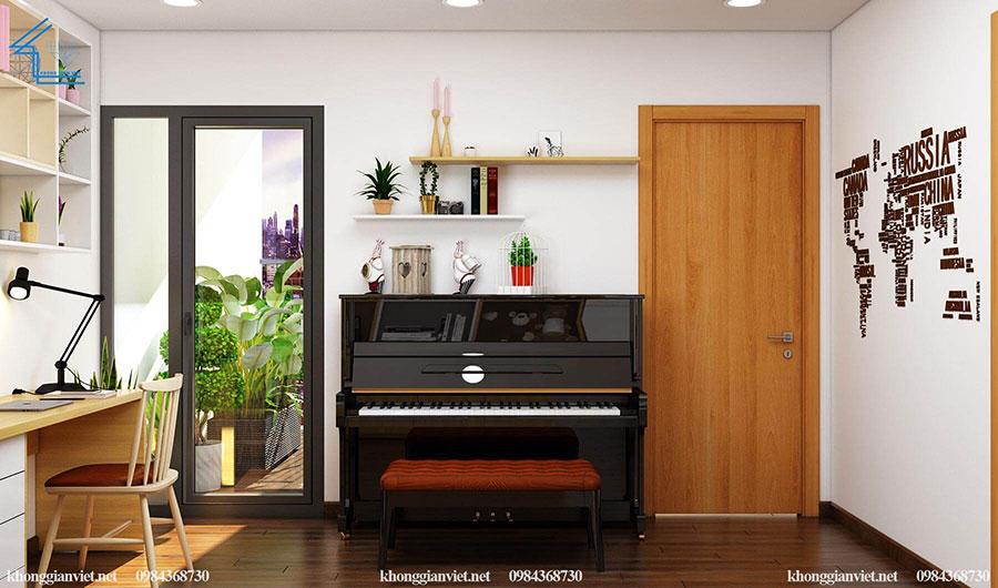 thiết kế nội thất căn hộ chung cư flc 4010-9