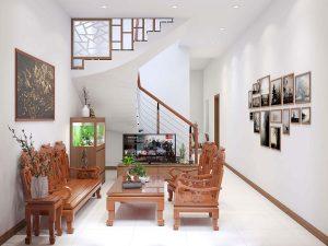 thiết kế nội thất nhà phố nhà anh sơn đông anh 1