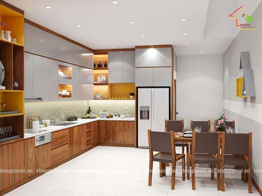 thiết kế nội thất nhà phố nhà anh tuấn anh quốc oai - 7