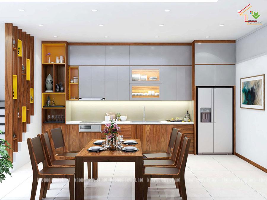 thiết kế nội thất nhà phố nhà anh tuấn anh quốc oai - 9