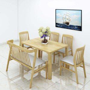 bàn ghế ăn mẫu 1