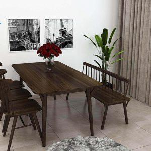 bàn ghế ăn mẫu 8