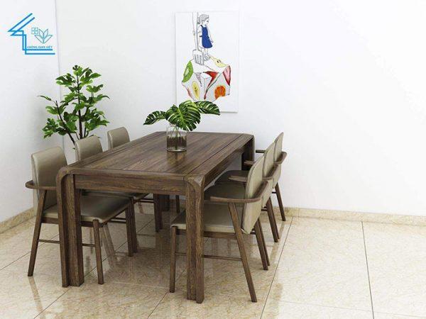 bàn ghế ăn mẫu 4