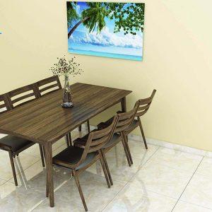 bàn ghế ăn maaux 5