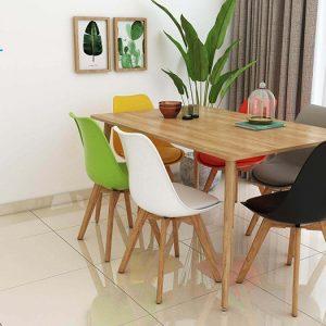bàn ghế ăn mẫu 6