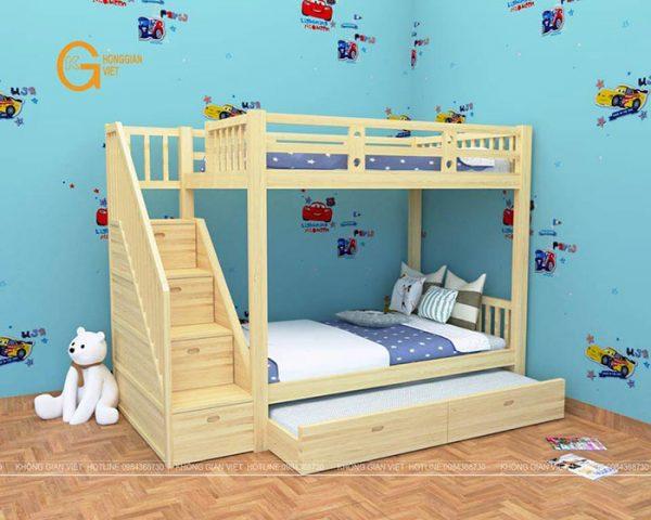 giường tầng trẻ em mẫu 1