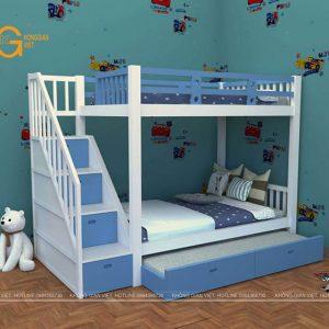giường tầng trẻ em mẫu 2