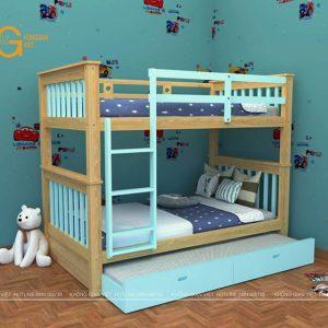 giường tầng trẻ em mẫu 3