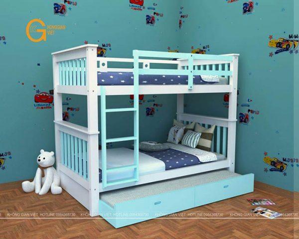 giường tầng trẻ em mẫu 4