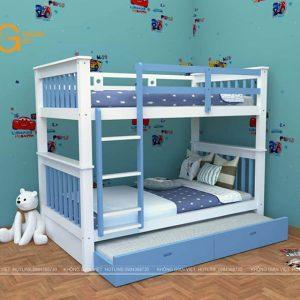 giường tầng trẻ em mẫu 5