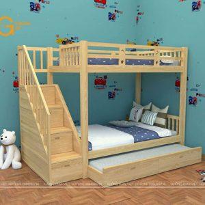 giường tầng trẻ em mẫu 6