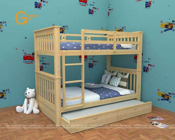 giường tầng trẻ em mẫu 7