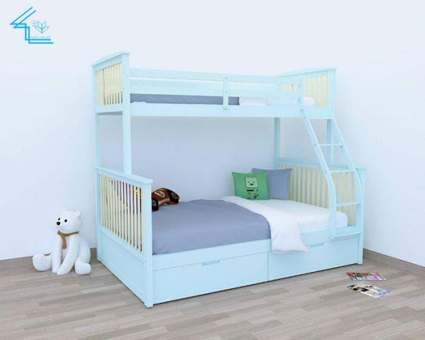giường tầng trẻ em mẫu 8