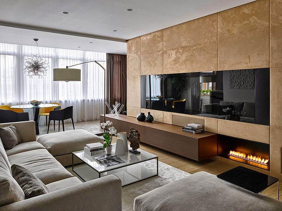 nội thất biệt thự phong cách hiện đại đẹp