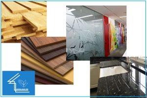 vật liệu thiết kế nội thất