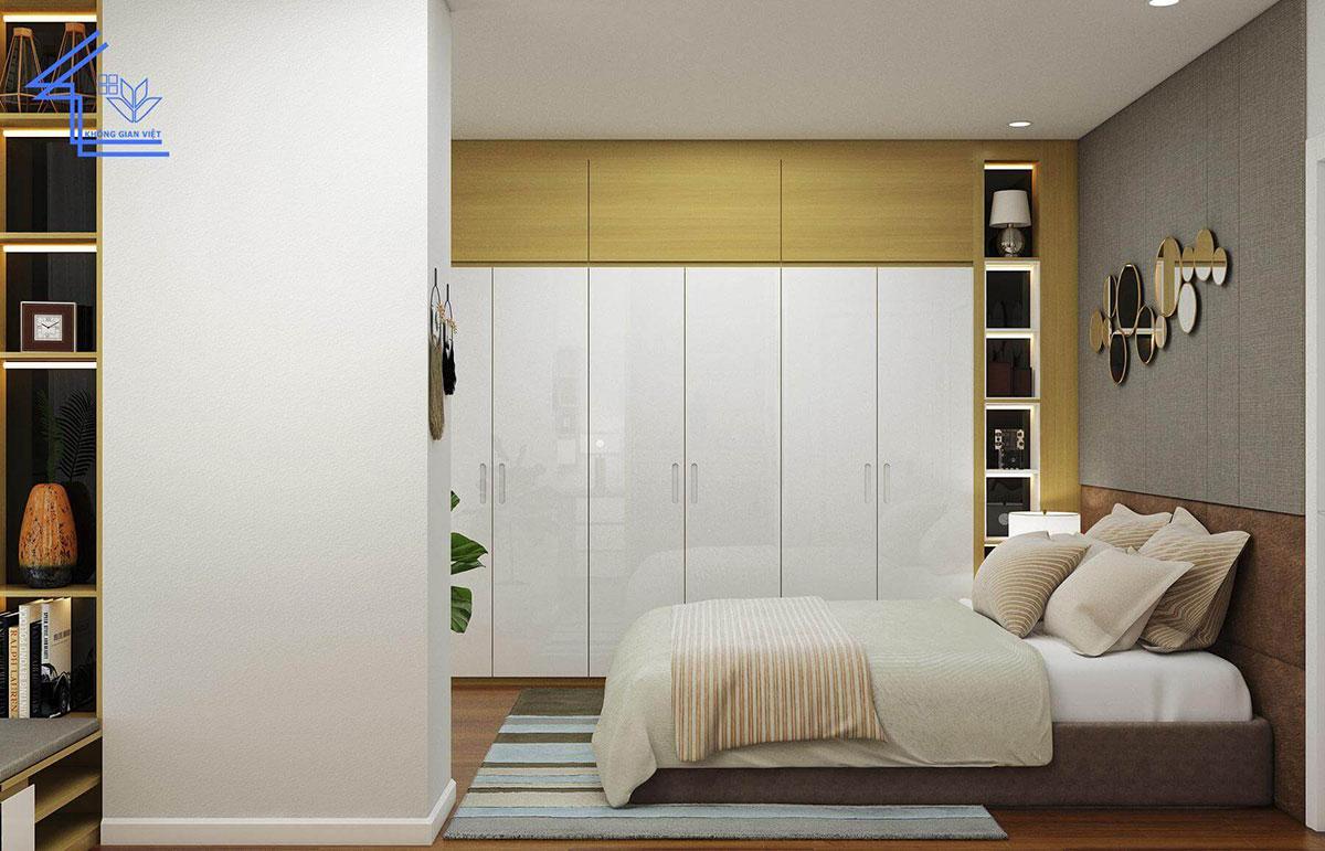 thiết kế nội thất chung cư phòng ngủ thứ 2
