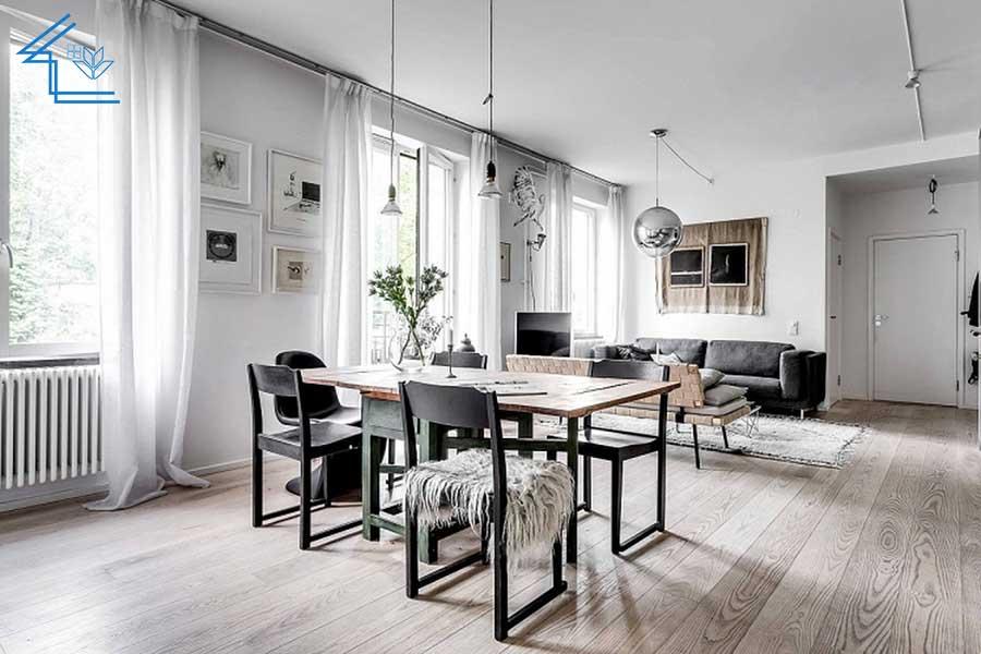 phong cách nội thất bắc âu scandinavian