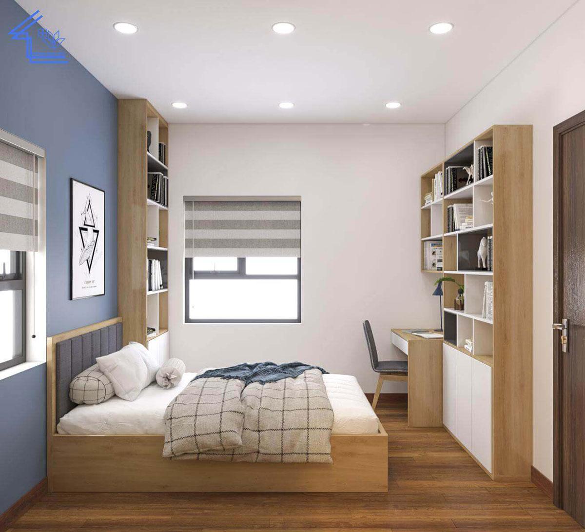 phòng ngủ chung cư gamuda