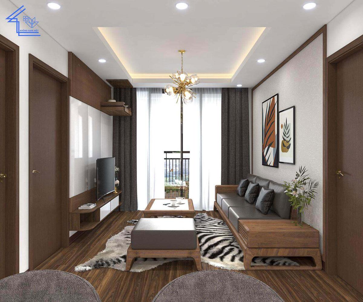 thiết kế nội thất chung cư anh trinh ngoại giao đoàn