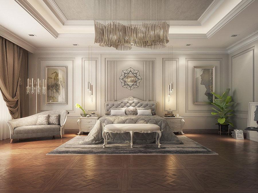 master bedroom phong cách cổ điển