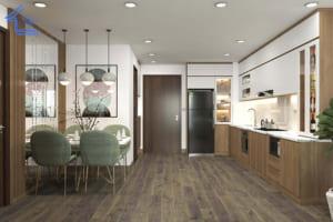 thiết kế nội thất chung cư anh lợi anh khánh