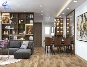 thiết kế nội thất chung cư anh phú bùi xương trạch
