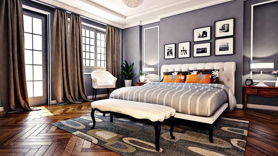 phòng ngủ chính phong cách tân cổ điển