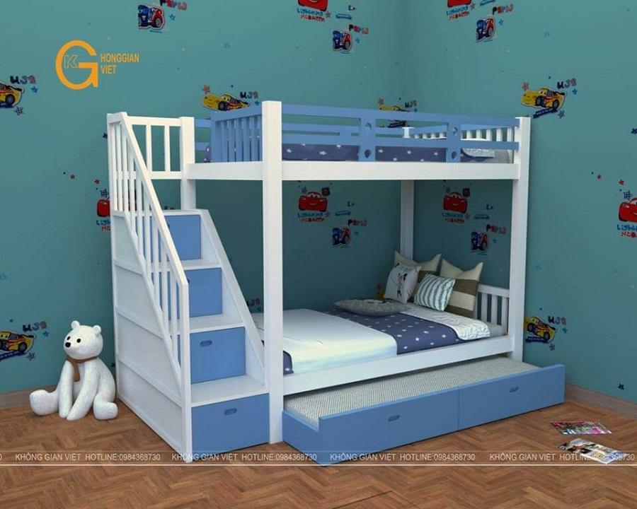 mẫu giường ngủ gỗ an cường