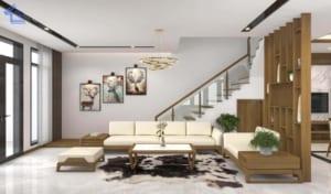 Thiết kế phòng khách theo phong thủy thì tài lộc, sự may mắn và sức khỏe mới đến với gia chủ một cách dồi dào
